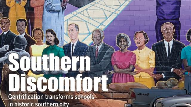 "The cover story of August 2019 edition of ASBJ, ""southern discomfort,"" and a picture of colorful graffiti"
