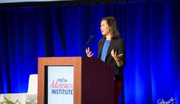 jessica rosenworcel speaks at NSBA Advocacy Institute