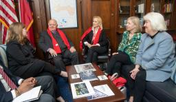 advocacy attendees meet with their representatives