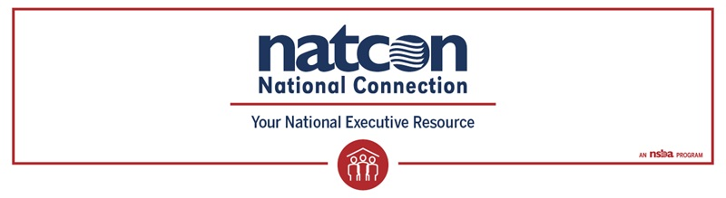 "NatCon's logo with the text ""your national executive resource"""
