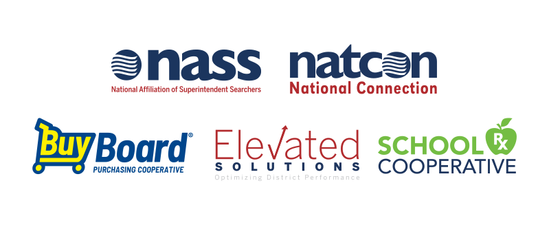 the logos of NSBA's services