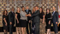 Florida's Hillsborough county public schools receives the CUBE Excellence award
